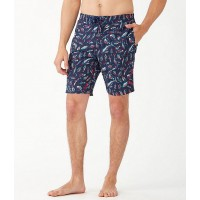 """Men Baja Tails from the Sea 9"""" Inseam Board Trunks Tommy Bahama DCQBBON"""